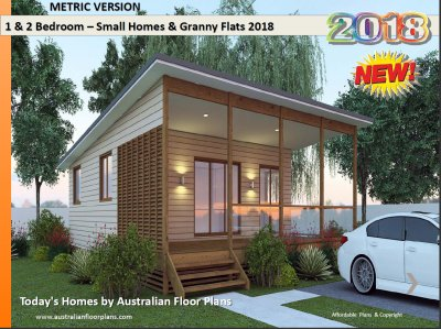 INTRODUCING OUR NEW DESIGN HOT NEW TRENDS Granny Flat Designs - Granny flat 2 bedroom designs