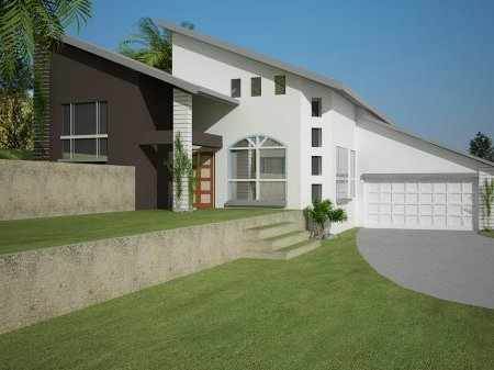 5 Bedroom Sloping Land Split Level Kit Home Design