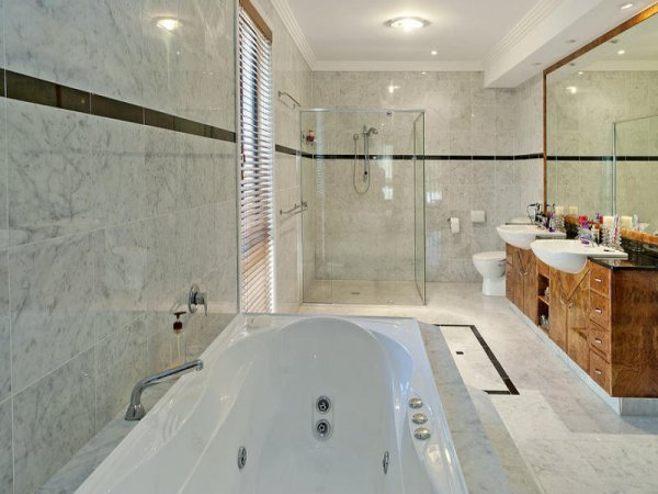 bathroom tile ideas - Bathroom Tiles Height