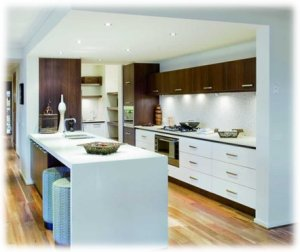 Kitchens 100 top kitchens kitchen design styles ebook of for Galley kitchen designs australia