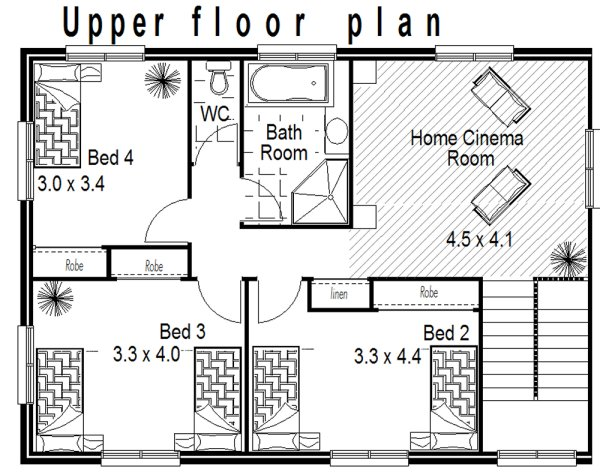 Narrow lot house design 8 meter frontage nice small narrow lot house design fits 10 meter land - Meter wide house plans ...