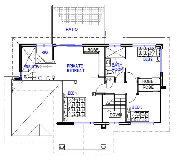 2 storey house- 4 BEDROOM
