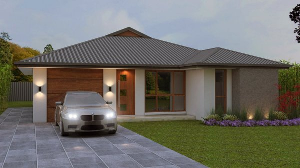 Small house plans 3 BED