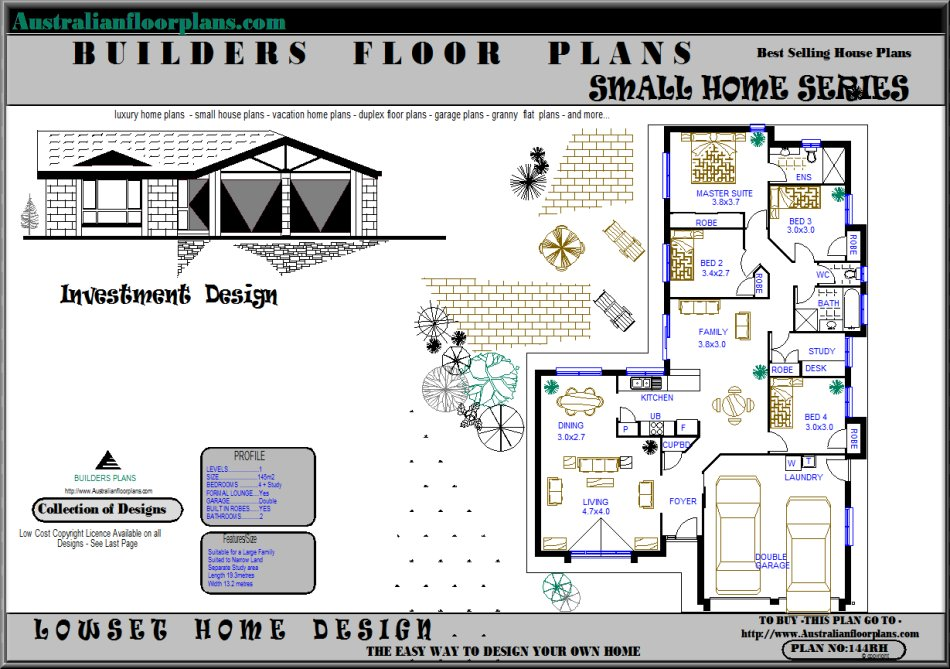 House Plans, House Designs, Home Designs, Custom Architect Designs