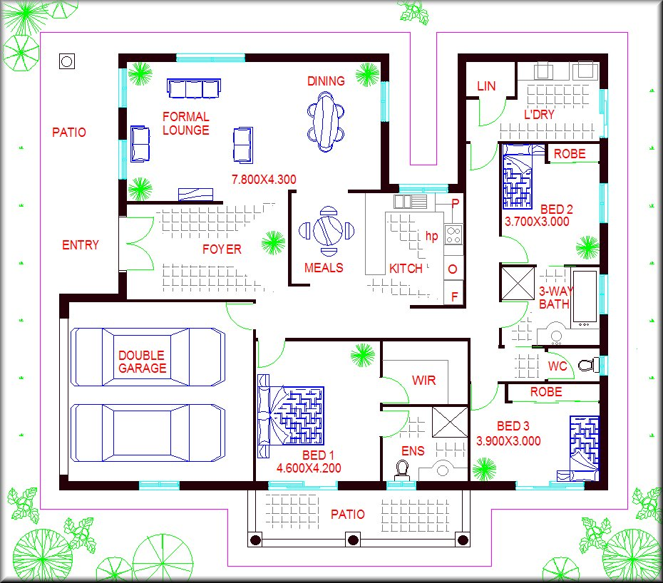 Simple cost effective house plans 28 images simple house plans 2 bedroom house plans home - Three family house plans cost efficient choices ...