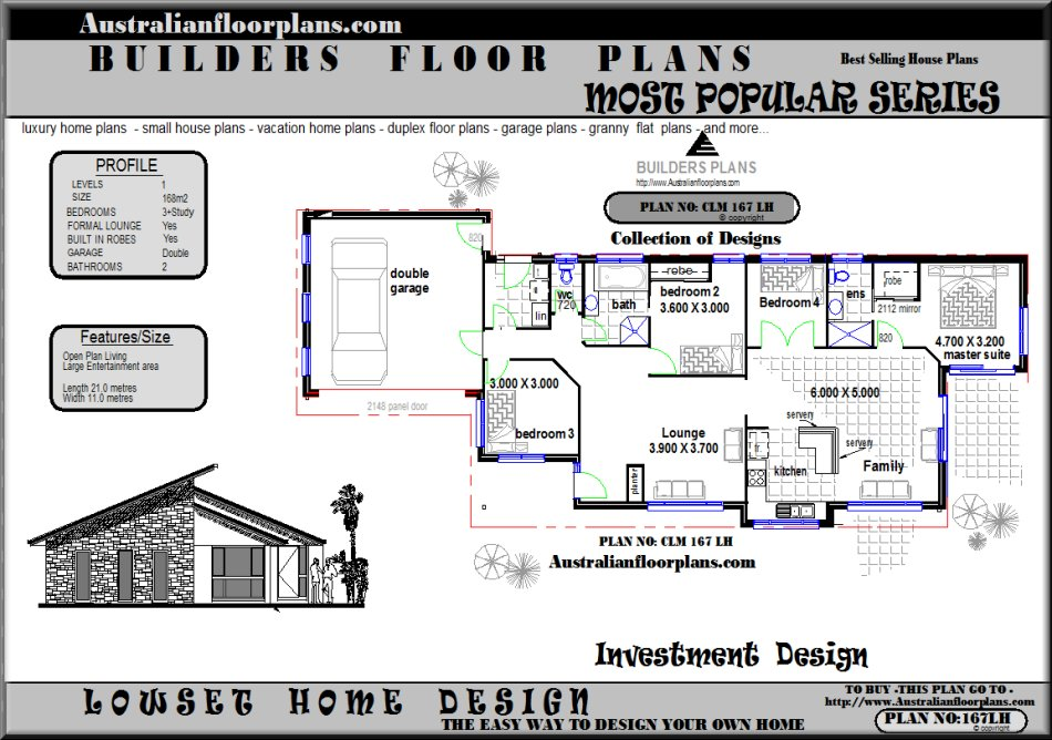 Bedroom Open House Plans