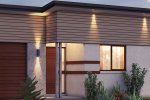 4 bedroom narrow lot house plan
