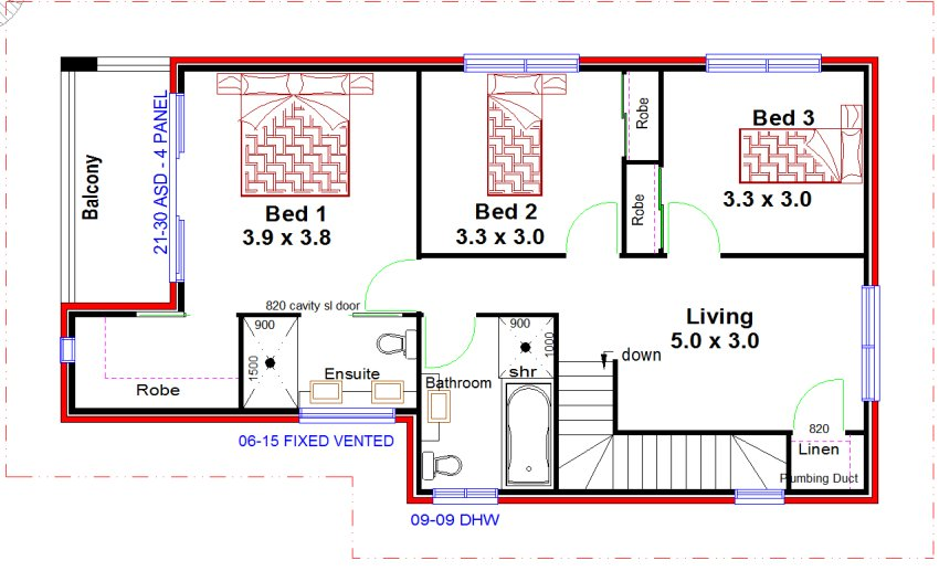 22 Beautiful Townhouse Duplex Plans House Plans 59153