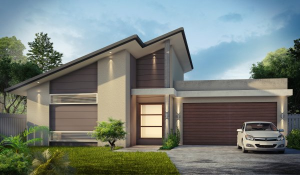 australian houses narrow lot 4 bedroom house plan home cinema room