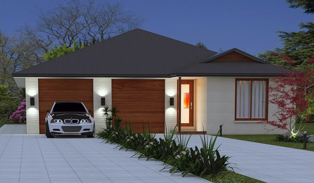 Australian dual key home design dual key home design for Dual dwelling house plans