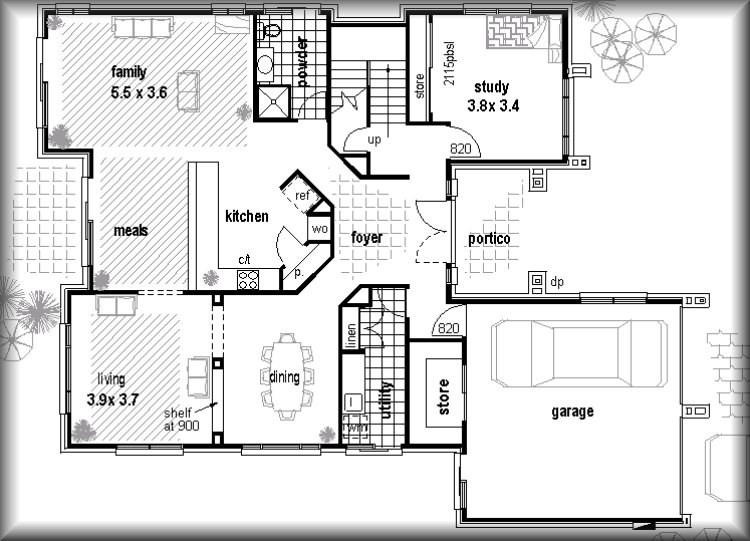 Floor plans real estate investments plans 4 bed floorplans for Home floor plans with cost to build
