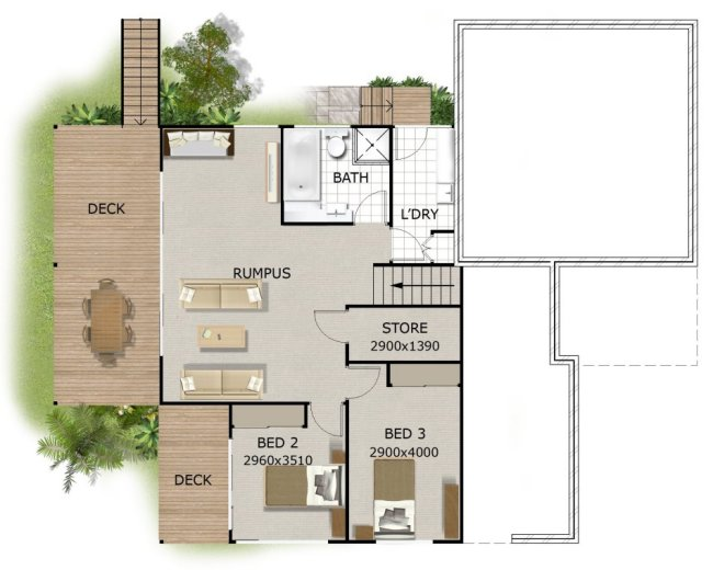 28+ [ Sloping House Plans ] | House Plans For Sloping Sites 171 ...