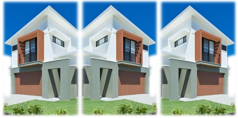 New Townhouse Real Estate Design Duplex Design House