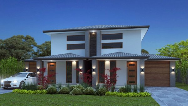 New townhouse floor plans 6 bedroom townhouse design for Contemporary townhouse plans
