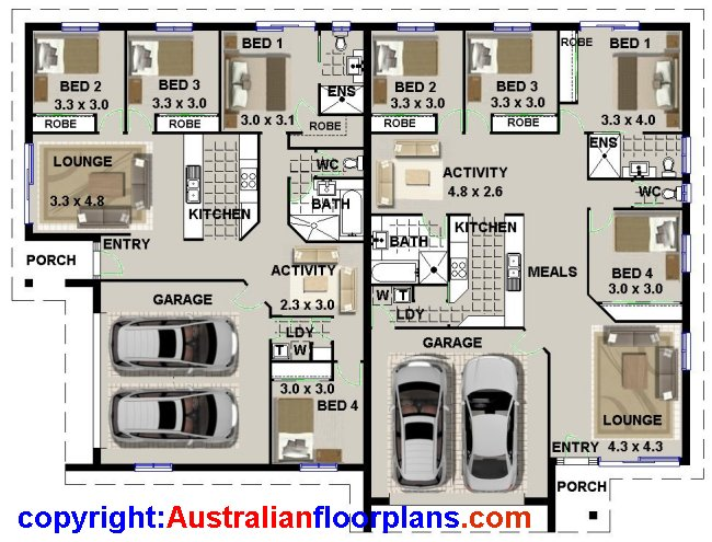 Australian Duplex House Plans Cheap Kit Homes Steel Or