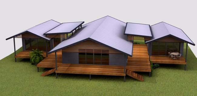 Australian kit home cheap kit homes c2 steel frame house for A frame house kits for sale