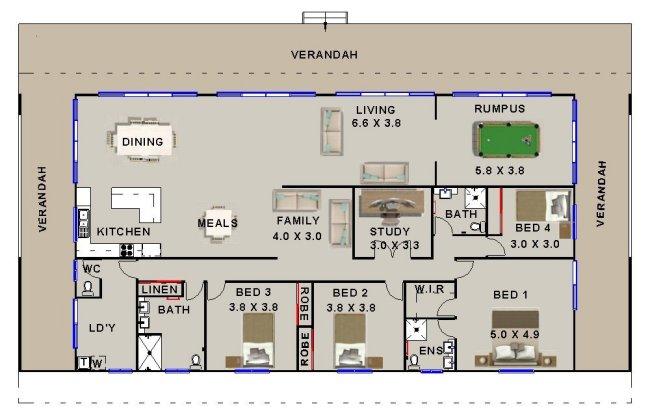 house plans australian homestead arts