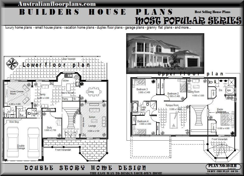 House Plans And Design Modern Australian House Floor Plans