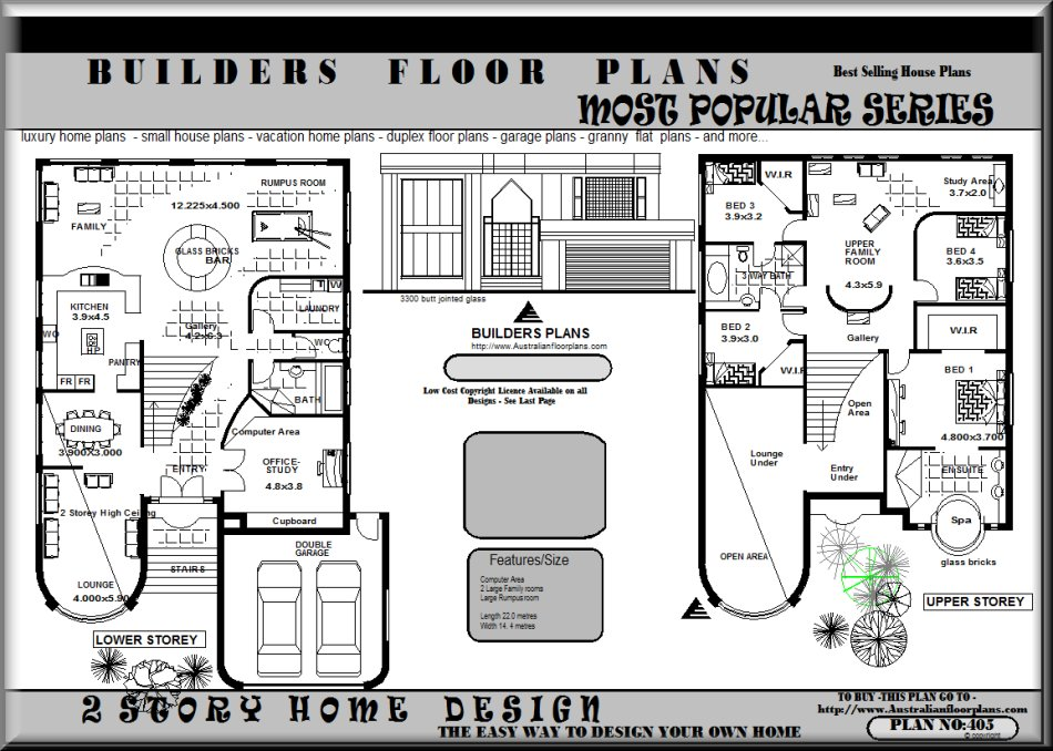 Related Posts. 0 · Modern Australian House Floor Plans