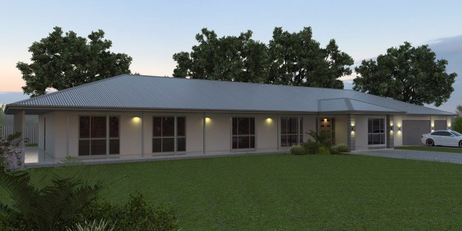 ACREAGE HOUSE DESIGN – Colonial House Designs And Floor Plans