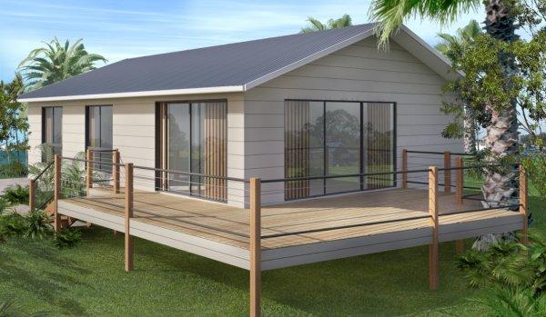 ... on steel posts| 2 bedroom house plans |small house plans australia