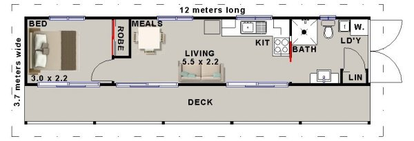 Shipping Container Design. New Affordable Living See Plans Here
