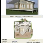 free Small 1 & 2 Bed House Plans