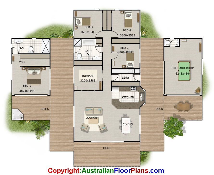 House Plans With Wow Factor 4 Bed House Plans Sloping