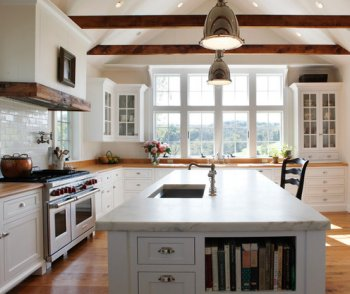 Captivating Modern Farm Kitchen Design Good Looking