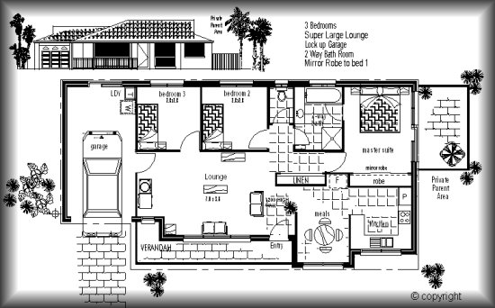 ausdesign australian house plans home designs individual designs - Contemporary House Plans Australia
