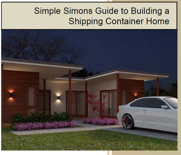 Guide to building a container home - Container home building code ...