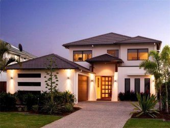 free modern double storey house plans - Double Story House Plans Free