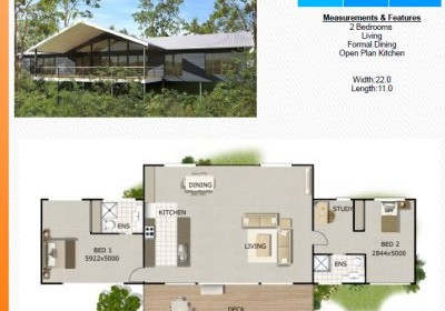 6pack Beach house floor plans australia