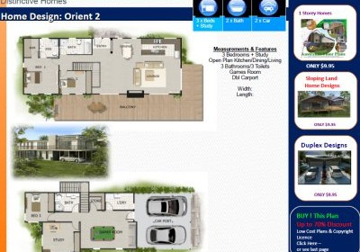 2 Bedroom Home Designs.  Modern Home Designs 2 story house plans storey floor double