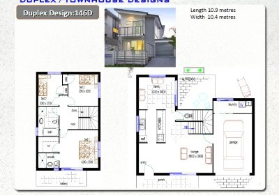6pack for Small duplex design ideas