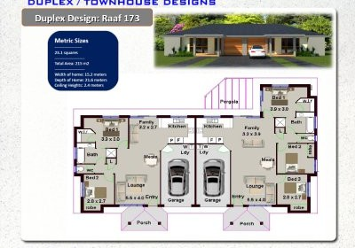 Dream house floor plans australia house design plans for Corner block duplex designs