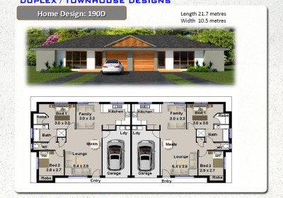Duplex_designs_book on Townhouse Floor Plans