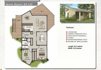 House plan with granny flat escortsea Granny cottage plans