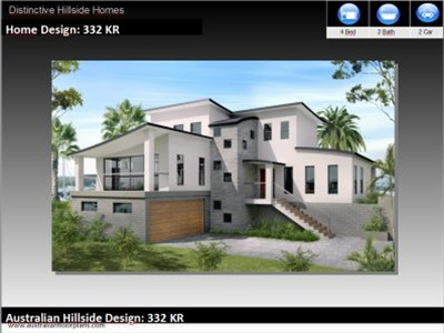 Hillside House Plans Sloping Lots House Design Ideas