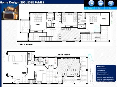 Narrow house floor plans australia house design plans for House plans australia