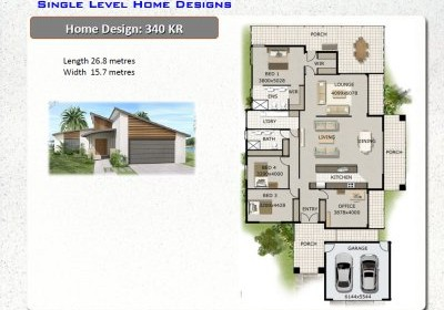 1 Level House Plans|New Home Designs|Australian House Plans|one ...