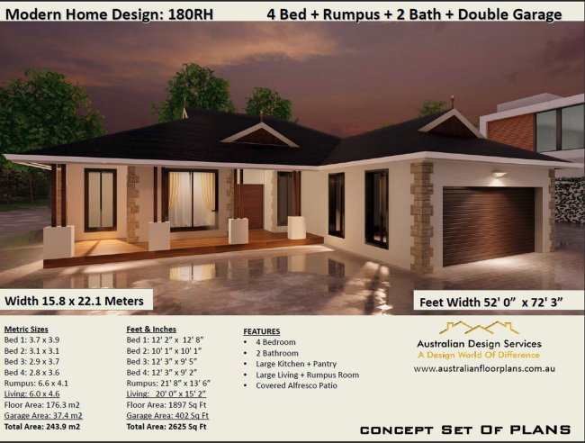 Federation Style 4 Bedroom House Plan 180 Clm Australian Dream Home See Our New Free Plans Raised House Plans House Plans On Timber Floor Modern Country House Plans Plus Many More