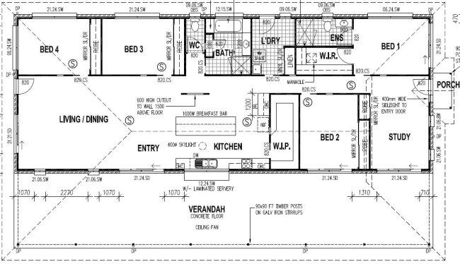 Australian 4 / 5 Homestead Home Design Plans Australian ...