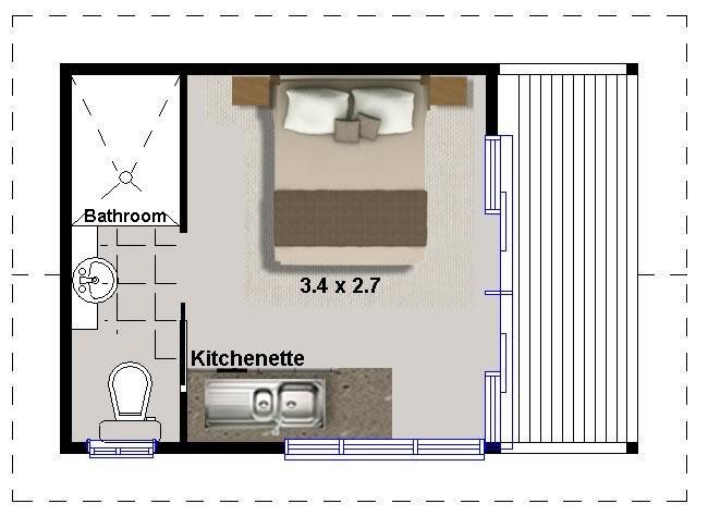 Granny Flat Floor Plans 1 Bedroom – Home Decorations Idea