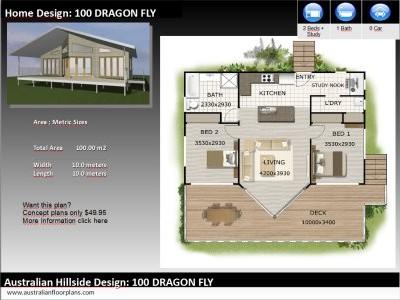 Awe Inspiring Australian Dream Hillside Home Design Book Split Level Beutiful Home Inspiration Xortanetmahrainfo